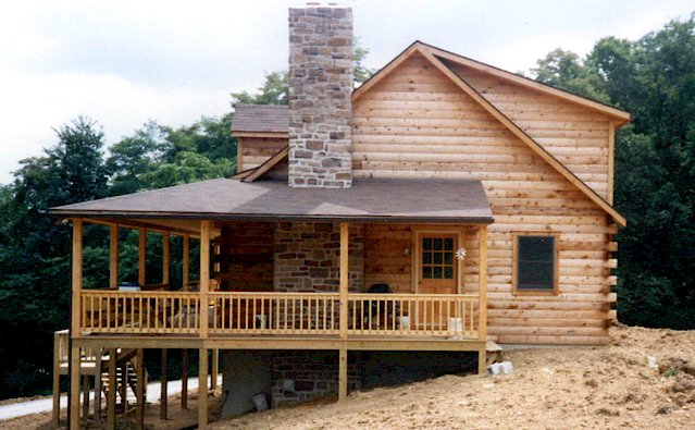 Exteriors Weiler S Custom Log Homes